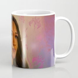 Surrounded by Flowers Coffee Mug