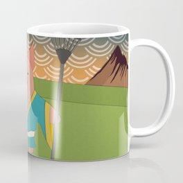 Cutout Zhu Bajie Coffee Mug