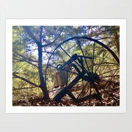 Carriage Ride Through Time Art Print