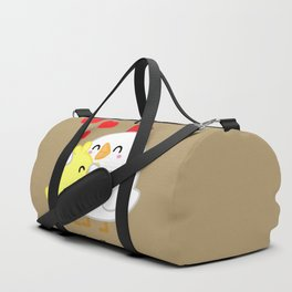 Chickens - I Love You Too Mom Duffle Bag