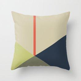 bandana    camou & coral Throw Pillow