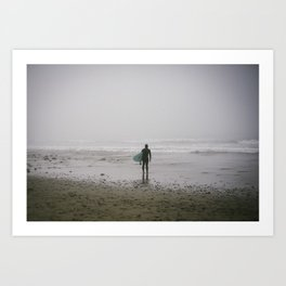 Ready to Surf Art Print