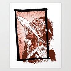 Bite Art Print