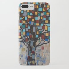 :: Stained Glass Tree :: Slim Case iPhone 7 Plus