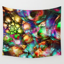 The abstract materialism is the spiritualism abstracted from the material Wall Tapestry