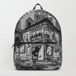 Times Square III Special Edition I (black & white) Backpack
