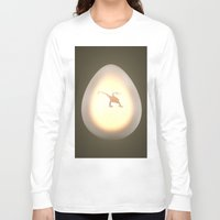 egg Long Sleeve T-shirts featuring Egg by Benjamin Ring
