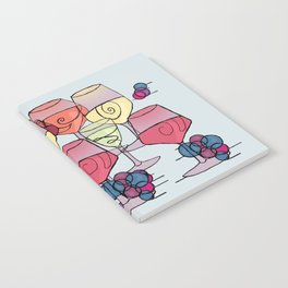 Wine and Grapes Notebook
