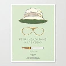 Dress The Part - Fear & Loathing in Las Vegas Canvas Print