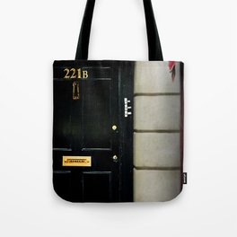 221B Baker Street BBC Sherlock Tote Bag