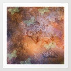 Flutter Dreams Art Print
