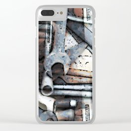 A Spanner In The Works Clear iPhone Case