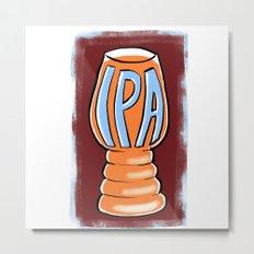 IPA Metal Print