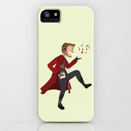 Dancing Quill iPhone Case