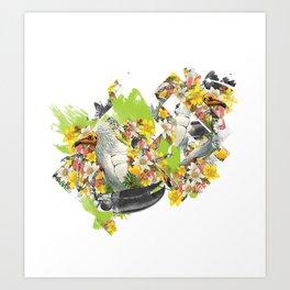 Terror Tropical 1 Art Print