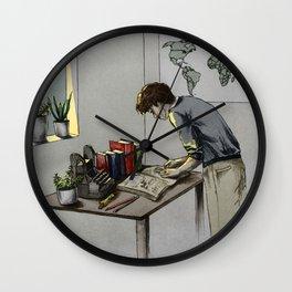 dick gansey III Wall Clock