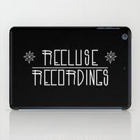 logo iPad Cases featuring LOGO by Recluse recordings official