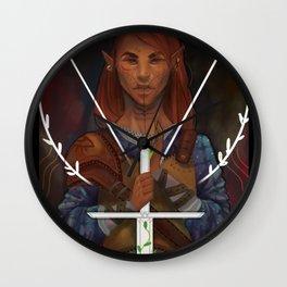 Inquisitor Roan Wall Clock