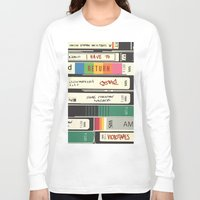 american psycho Long Sleeve T-shirts featuring American Psycho by r054