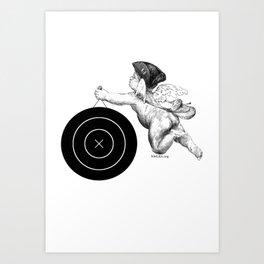 Colonial Cupid | NMLRA Target Art Print