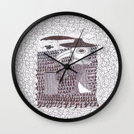 Plague Fashion Wall Clock