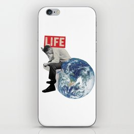 The weight of life iPhone Skin