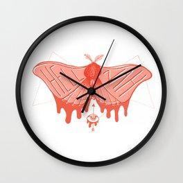 Hell Nah (pink) Wall Clock