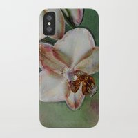 orchid iPhone & iPod Cases featuring Orchid by LoRo  Art & Pictures