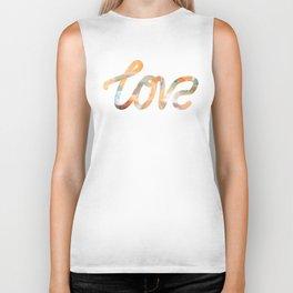 "The Love Series - ""Love"" #2 (typography) Biker Tank"