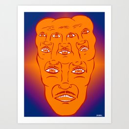 MY PSYCHEDELIC SERIES Art Print