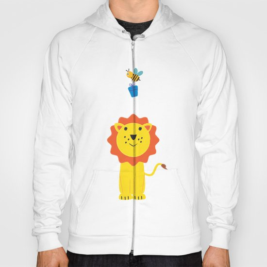 Lion and bee Hoody