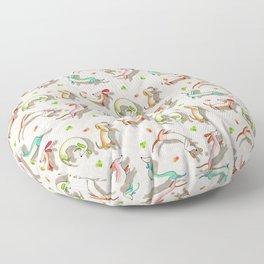 Slinky dog Floor Pillow
