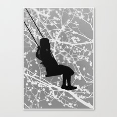 The swing Canvas Print