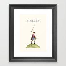 Adventure! Framed Art Print
