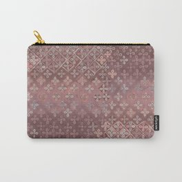 Dusty pink patina Carry-All Pouch