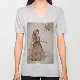 There's Ivy, That's For Fidelity  Unisex V-Neck