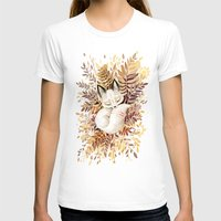 leaves T-shirts featuring Slumber by Freeminds