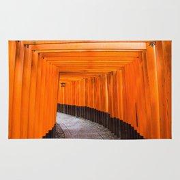 Fushimi Inari Walkway Rug