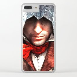 assassins creed Clear iPhone Case