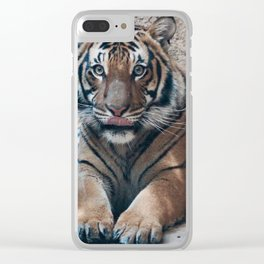 Embrace your Wild Side Clear iPhone Case