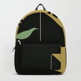 Stuttgart art expo: feed the birds Backpack
