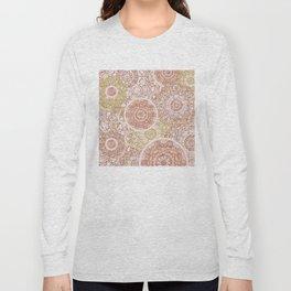 Rosey Gold Mandalas Long Sleeve T-shirt
