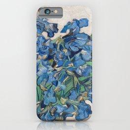 "Vincent Van Gogh ""Vase with Irises"" 1890 iPhone Case"