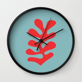 Matisse Leaves Cut Out #3 Wall Clock