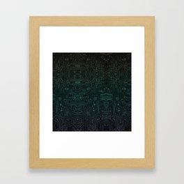 Circuitry Details Framed Art Print