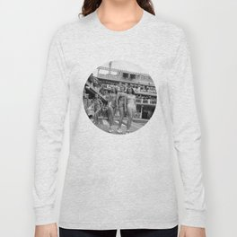 Vintage Swimsuit Models Long Sleeve T-shirt