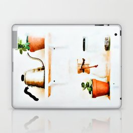 Plant Wall || #society6artprint #buyart Laptop & iPad Skin