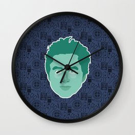 JD - Scrubs Wall Clock