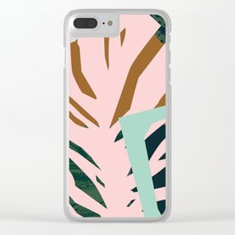 Pattern Study Clear iPhone Case