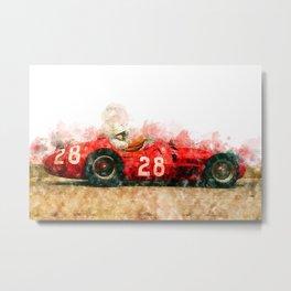 Stirling Moss Formula 1, 250F Metal Print